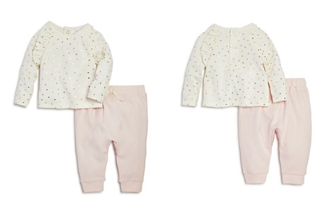 Bloomie's Girls' Heart-Print Tee & Jogger Pants Set, Baby - 100% Exclusive - Bloomingdale's_2