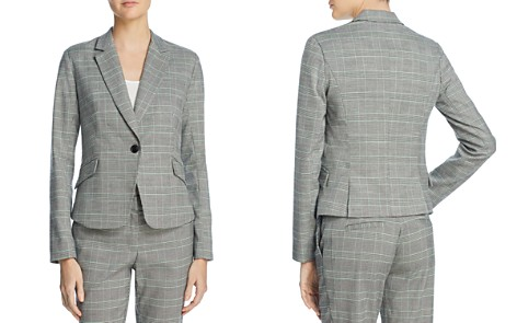AQUA Glen Plaid Blazer - 100% Exclusive - Bloomingdale's_2