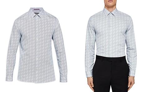 Ted Baker Skyee Geo Print Phormal Regular Fit Button-Down Shirt - Bloomingdale's_2