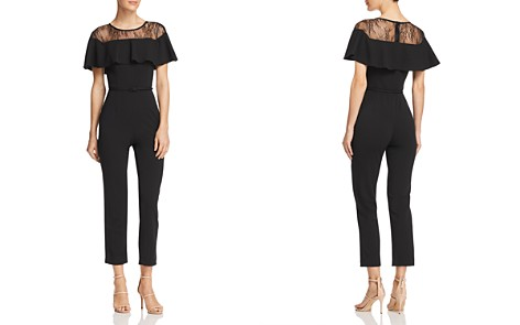 Adrianna Papell Lace Inset Jumpsuit - Bloomingdale's_2