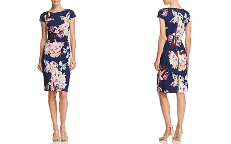 Adrianna Papell Flower Magic Sheath Dress - 100% Exclusive - Bloomingdale's_2