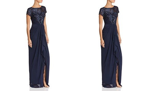 Adrianna Papell Embellished Bodice Gown - Bloomingdale's_2
