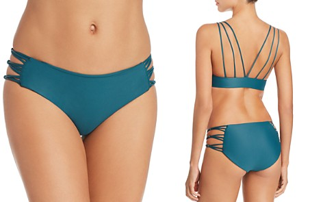 MIKOH Barcelona Full Coverage String Side Bikini Bottom - Bloomingdale's_2