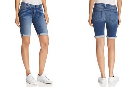 PAIGE Jax Denim Knee Shorts in Bloomfield - Bloomingdale's_2