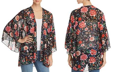 Kim & Cami Floral-Print Flutter Kimono - Bloomingdale's_2