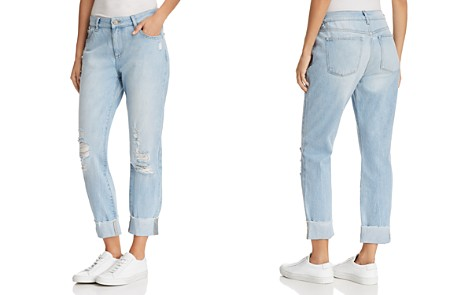 DL1961 Stevie Slim Boyfriend Jeans in Drifter - Bloomingdale's_2