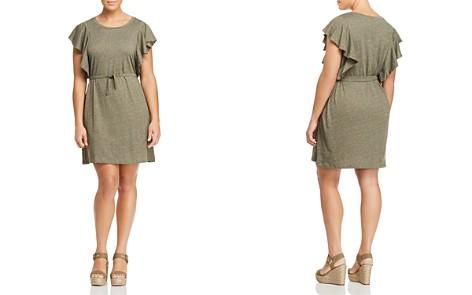 JUNAROSE Emmy Flutter-Sleeve Knit Dress - Bloomingdale's_2
