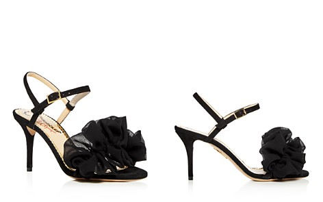 Charlotte Olympia Women's Reia Suede & Chiffon Slingback High Heel Sandals - Bloomingdale's_2