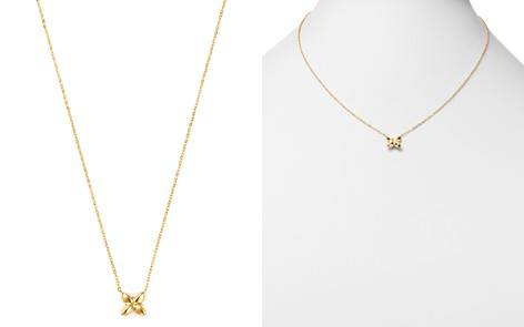 """Bloomingdale's Star Pendant Necklace in 14K Yellow Gold, 16"""" - 100% Exclusive _2"""