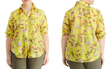 Lauren Ralph Lauren Plus Floral-Print Utility Top - Bloomingdale's_2