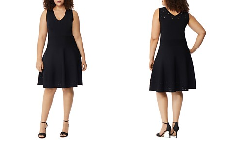 Rebel Wilson x Angels Pointelle Fit-and-Flare Dress - Bloomingdale's_2