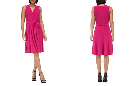 B Collection by Bobeau Addie Belted Jersey Dress - Bloomingdale's_2