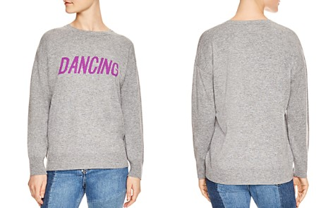Sandro Figlio Wool & Cashmere Dancing Graphic Sweatshirt - Bloomingdale's_2