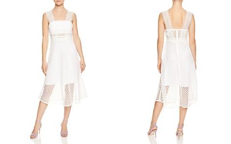 Sandro Etta Lace Midi Dress - Bloomingdale's_2