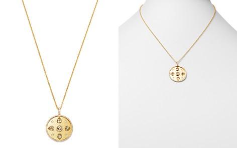 """Kiki McDonough 18K Yellow Gold Jemima Lemon Quartz & Diamond Pendant Necklace, 18"""" - Bloomingdale's_2"""