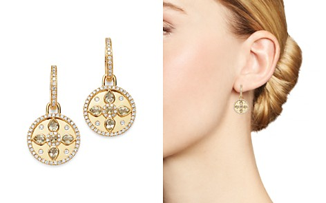 Kiki McDonough 18K Yellow Gold Jemima Lemon Quartz & Diamond Drop Earrings - Bloomingdale's_2