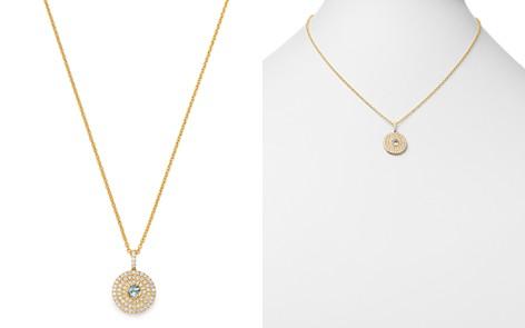 """Kiki McDonough 18K Yellow Gold Fantasy Blue Topaz & Diamond Pendant Necklace, 18"""" - Bloomingdale's_2"""