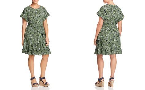 MICHAEL Michael Kors Plus Ruffled Paisley-Print Dress - Bloomingdale's_2