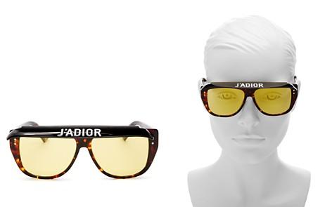 Dior Club 2 Mirrored Square Visor Sunglasses, 56mm - Bloomingdale's_2