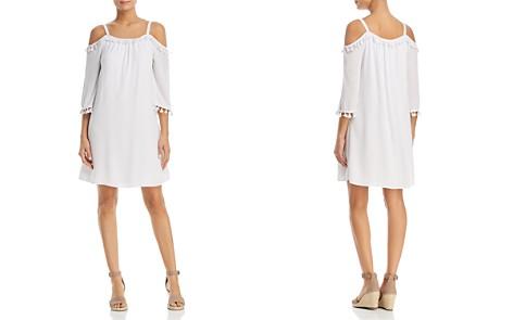 Design History Cold-Shoulder Tassel Dress - Bloomingdale's_2