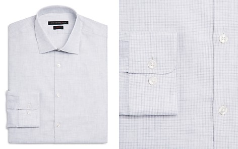 John Varvatos Star USA Heathered Slim Fit Dress Shirt - Bloomingdale's_2