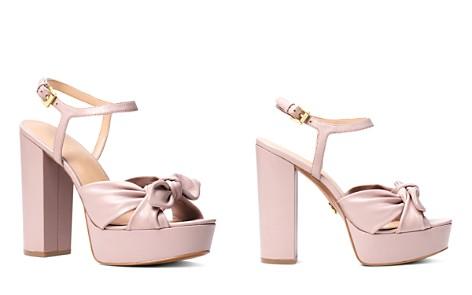 MICHAEL Michael Kors Women's Pippa Leather Platform High-Heel Sandals - Bloomingdale's_2