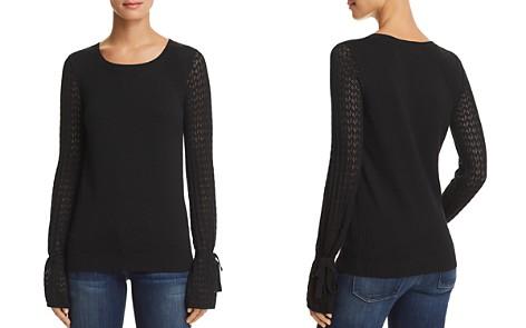 AQUA Bell Sleeve Sweater - 100% Exclusive - Bloomingdale's_2