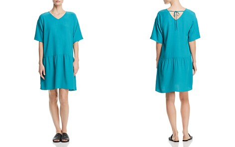 Eileen Fisher Petites Drop Waist Dress - Bloomingdale's_2