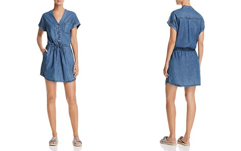 PAIGE Haidee Chambray Dress - Bloomingdale's_2