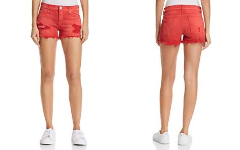 Hudson Kenzie Cutoff Denim Shorts in Red Alert - Bloomingdale's_2