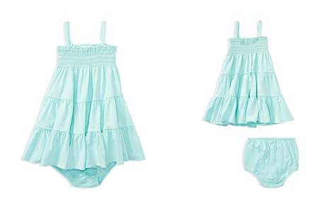 Ralph Lauren Girls' Smocked Dress & Bloomers Set - Baby - Bloomingdale's_2