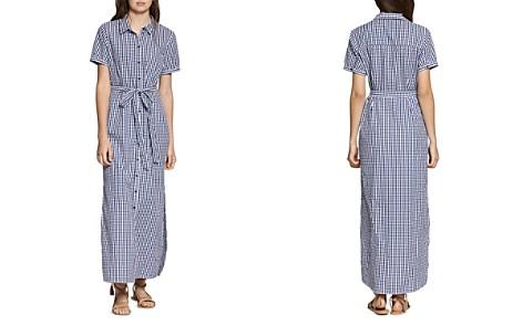 Sanctuary Blue Dawn Gingham Maxi Shirt Dress - Bloomingdale's_2