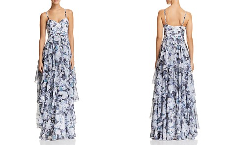 Fame and Partners The Catherine Tiered Floral Gown - Bloomingdale's_2