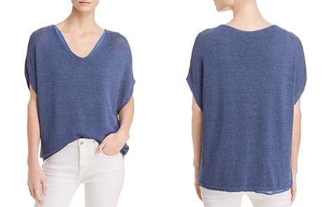 NIC+ZOE Lived In Layered-Look Top - Bloomingdale's_2