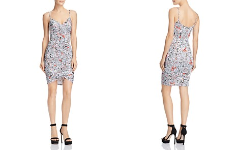 GUESS Janiah Ruched Bodycon Dress - Bloomingdale's_2