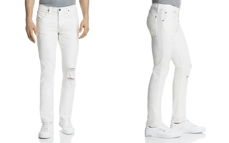 Hudson Blake Slim Straight Fit Jeans in Caution - Bloomingdale's_2