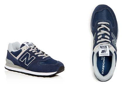 New Balance Men's Classic 574 Evergreen Suede Lace Up Sneakers - Bloomingdale's_2