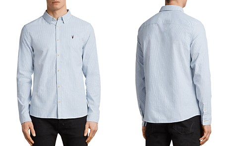 ALLSAINTS Kilda Slim Fit Button-Down Shirt - Bloomingdale's_2