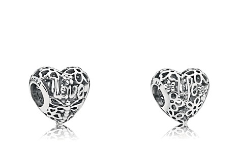 PANDORA Sterling Silver Promise of Spring Heart Charm - Bloomingdale's_2