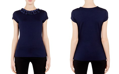 Ted Baker Charre Bow-Trimmed Tee - Bloomingdale's_2