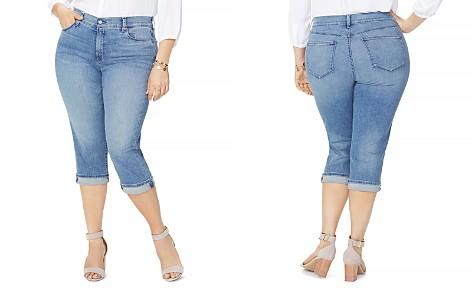 NYDJ Plus Marilyn Cropped Jeans in Pacific - Bloomingdale's_2