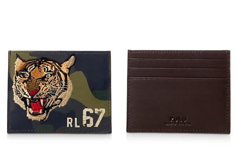 Polo Ralph Lauren Camouflage Tiger Leather Card Case - Bloomingdale's_2