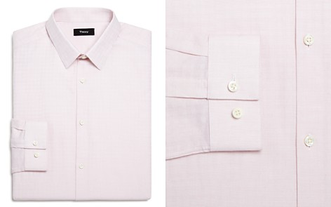 Theory Illusion Textured Slim Fit Dress Shirt - Bloomingdale's_2