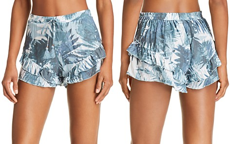 Surf Gypsy Ruffled Shorts Swim Cover-Up - Bloomingdale's_2