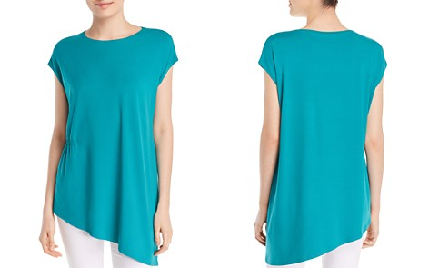 Eileen Fisher Gathered Asymmetric Top - Bloomingdale's_2