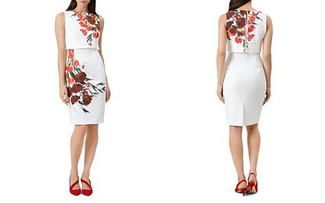 HOBBS LONDON Bree Popover Floral Print Dress - Bloomingdale's_2