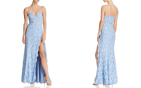 Fame and Partners The Kirsten Lace Bustier Gown - Bloomingdale's_2