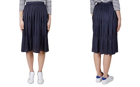 Gerard Darel Agathe Plissé Skirt - Bloomingdale's_2