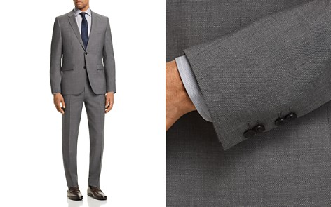 HUGO Astian/Hets Slim Fit Birdseye Suit - Bloomingdale's_2