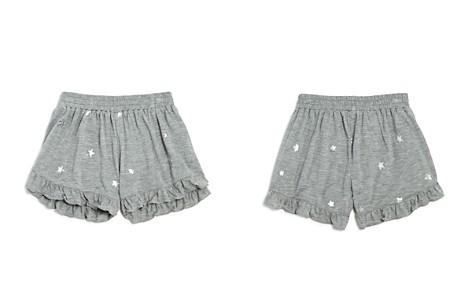 Flowers by Zoe Girls' Ruffled Foil-Star Shorts - Big Kid - Bloomingdale's_2